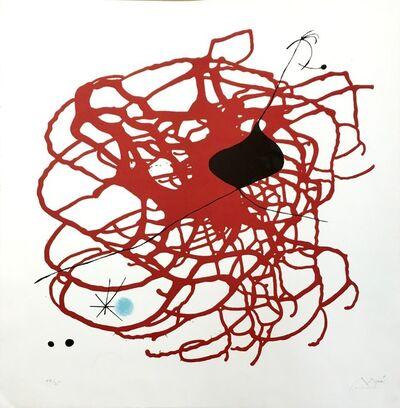 Joan Miró, 'World Heart Month (Beat)', 1968