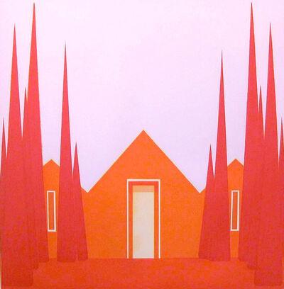 Salomón Huerta, 'Untitled (Vermillion House)', 2004
