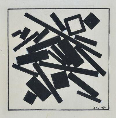 José Pedro Costigliolo, 'Rectángulos y cuadrados', 1969