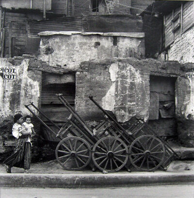 Mario Algaze, 'Carretas, Guatemala', 1979