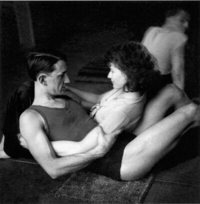Pierre Jamet, 'Lisa et Fernand Fonssagrives, Ballets Weidt Paris', 1934