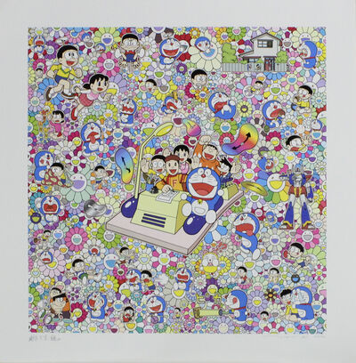 Takashi Murakami, 'On an Endless Journey on a Time Machine with the Author Fujiko F.Fujio', 2019