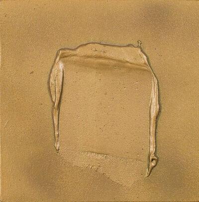 Hans Bischoffshausen, 'Spachtelspur', 1976