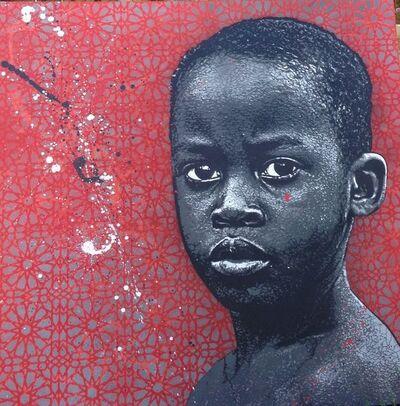 Jef Aérosol, 'Young boy ', 2015