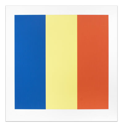 Ellsworth Kelly, 'Blue Yellow Red', 1990