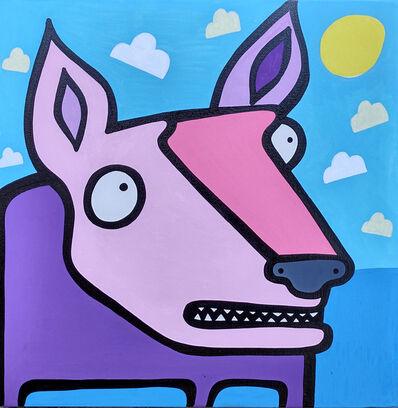 Kev Munday, 'The Pink Dog', 2021