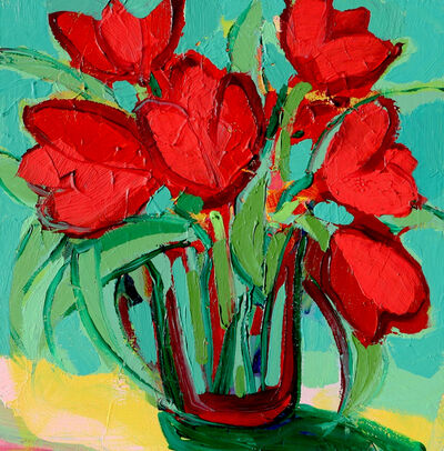 Alexandrya Eaton, 'Cheerful Tulips', 2018