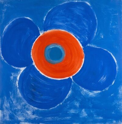 Sir Terry Frost, 'Bloom around red ', 1990