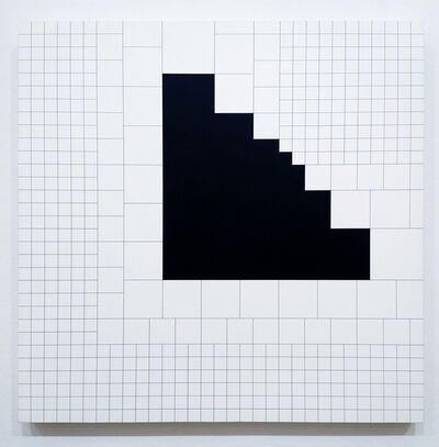 Attila Kovács, 'Frame of Reference 1-1974+metasquare 4x4 (10F)&(4F)', 1993