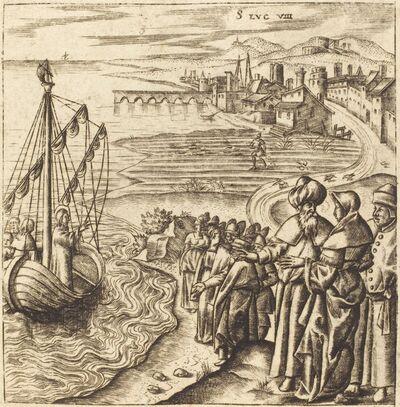 Léonard Gaultier, 'Christ on the Lake', probably c. 1576/1580
