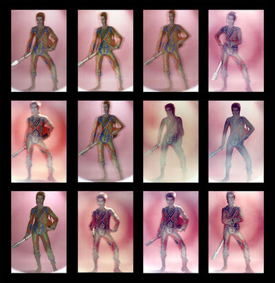 Brian Duffy, 'David Bowie: Ziggy Stardust, Contact Sheet', 1972