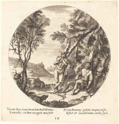 Georg Andreas Wolfgang, the Elder, 'Mercury Lulling Argos to Sleep', 1665
