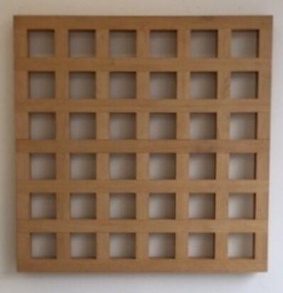Ewerdt Hilgemann, ''Relief Structure #183'', 1976