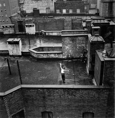 Arthur King, 'Lyric Moment, From Manhattan Bridge, New York City', 1958-9