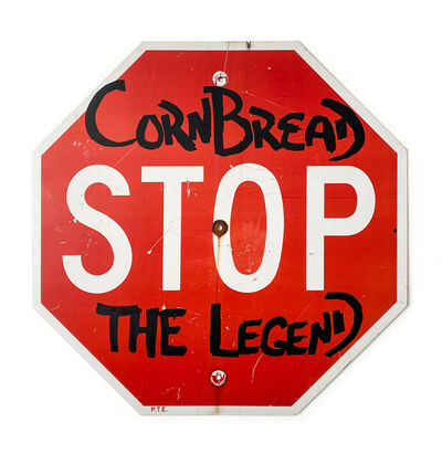 Cornbread, 'Cornbread the Legend Stop Sign', 2020