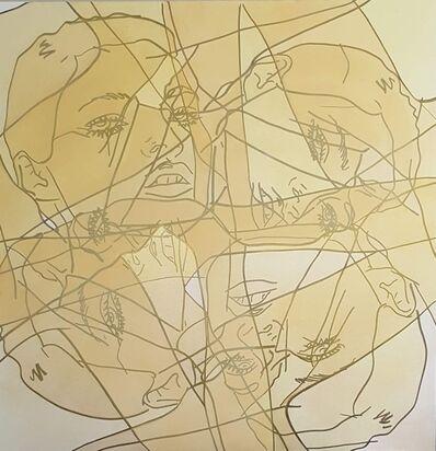 Hilary Bond, 'Untitled (Gold Kate 4x)', 2016