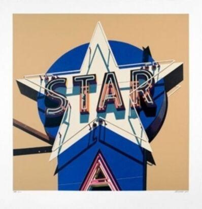 Robert Cottingham, 'Star', 2009