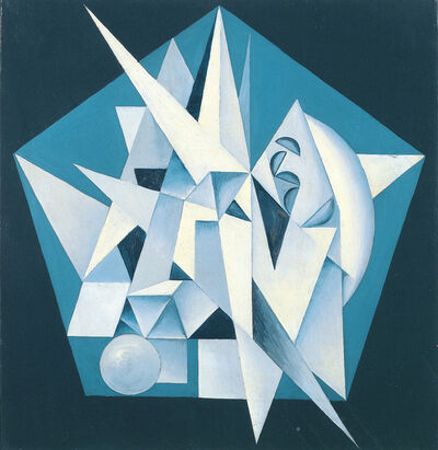 Georges Folmer, 'Composition bleue', 1940-1942