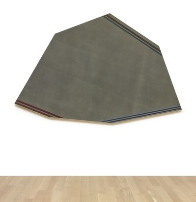 Kenneth Noland, 'Greyed Brown'