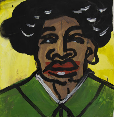 Jeffrey Spencer Hargrave, 'Afro Mao, Throwing Shade With a Left Side Eye', 2019