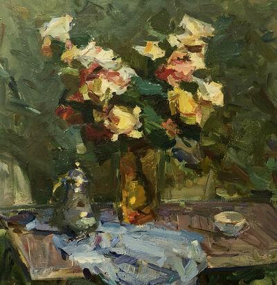 Fedor Zakharov, 'Winter Roses', 1986