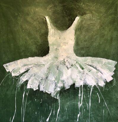 Ewa Bathelier, 'Green Dress', 2018