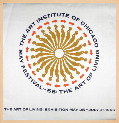 Ernest Trova, 'The Art of Living Exhibition: The Art Institute of Chicago', 1966