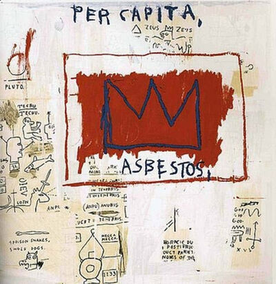 Jean-Michel Basquiat, 'Untitled (Per Capita)', 1983-2001