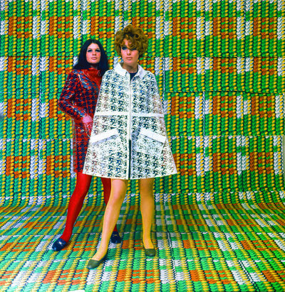 Thomas Bayrle, 'Models wearing coats designed by Lukowski + Ohanian with textile pattern by Thomas Bayrle, Galleria Apollinaire, Milan', 1967-1968