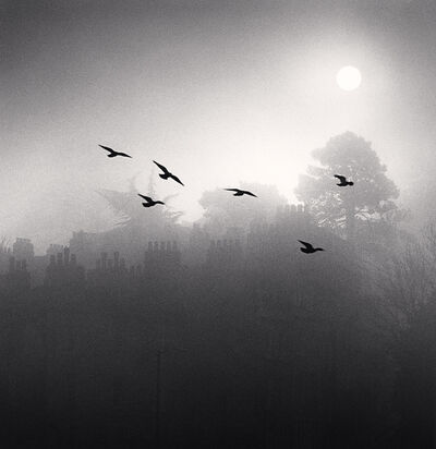 Michael Kenna, 'Six Flying Birds, Bath, Avon, England', 1987