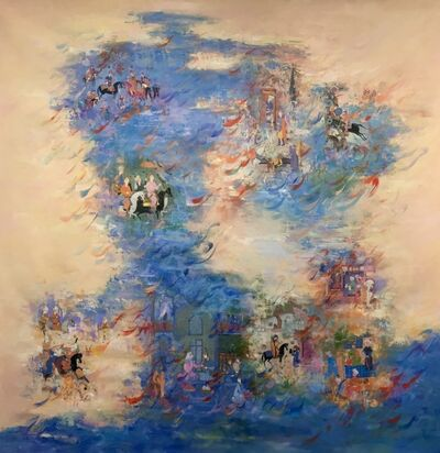 Nurieh Mozaffari, 'Passage of time IV', 2019