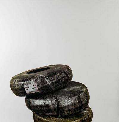 Michelangelo Pistoletto, 'Lavoro - Rotoli di passacavi', 2008-2011