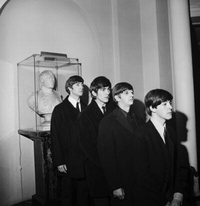 Harry Benson, 'Beatles with Napoleon Statue, Paris ', 1964