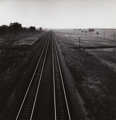 Andreas Feininger, 'Railroad Tracks, Nebraska', 1952 / 1980