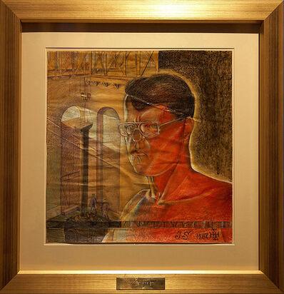 Laibach Kunst, 'Ivo Saliger Autoportrait (Tomaz Hostnik)', 1982
