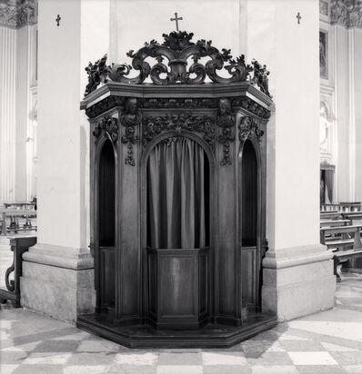Michael Kenna, 'Confessional, Study 35, Basilica Della Beata Vergine Della Ghiara, Reggio Emilia, Italy', 2015