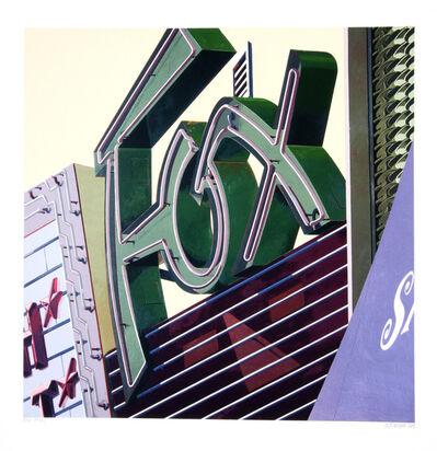Robert Cottingham, 'Fox', 2009