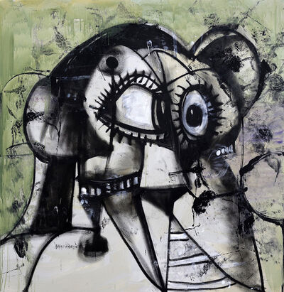 George Condo, 'Whistler's Father', 2019