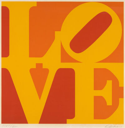 Robert Indiana, 'Golden Love (Sheehan 77)', 1973