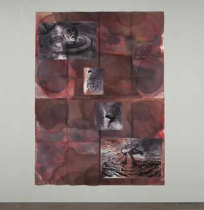 Eugenio Dittborn, 'Heráldica, Airmail Painting No. 156', 2003-2004