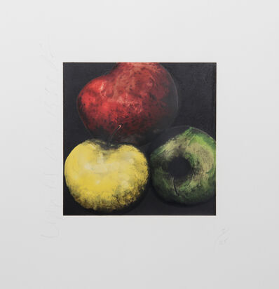 Donald Sultan, 'Apples', 1991