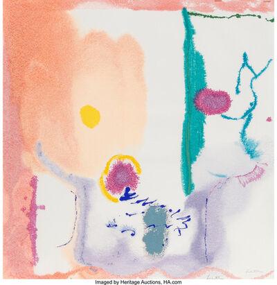 Helen Frankenthaler, 'Beginnings', 2002