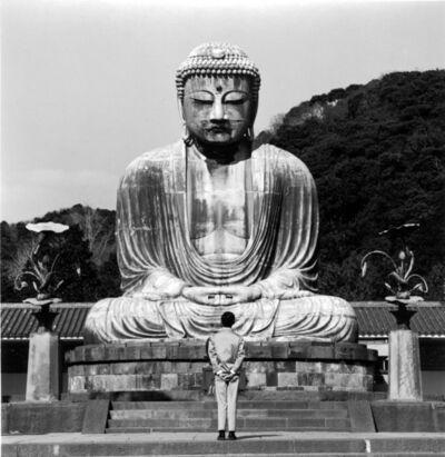 Tseng Kwong Chi, 'Kamakura, Japan (Buddha)', 1988