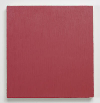 Marcia Hafif, 'late Roman Painting: Permanent Red Dark Tint', 1996