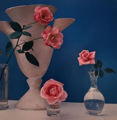 Horst P. Horst, 'Roses, Giacometti Vase', ca. 1985