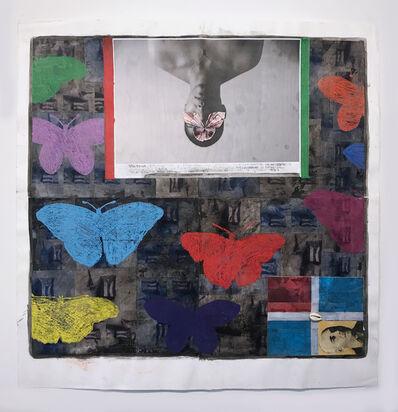 Juan Sánchez, 'Mariposas, Mariposas y Mas Mariposas', 2014