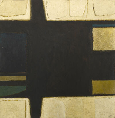 Alan Reynolds, 'Structure - Bronze, White and Blue', 1961