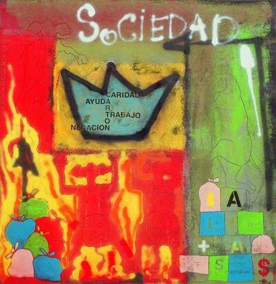 Carlos Alberto Scaramella, 'Sociedad.', 2017