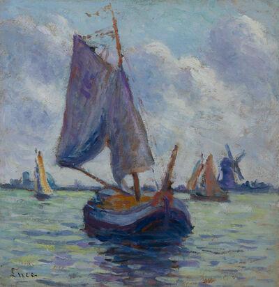 Maximilien Luce, 'Bateaux hollandais', Unknown