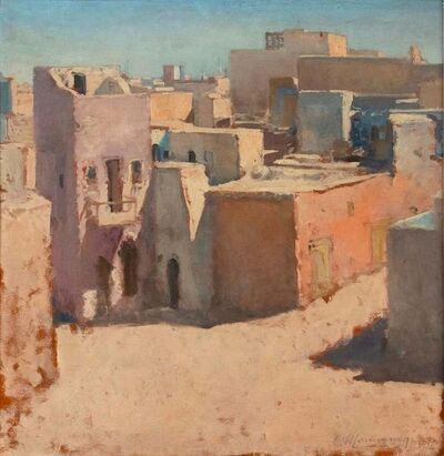 Claudio Martinenghi, 'View of Old Tripoli', 1972